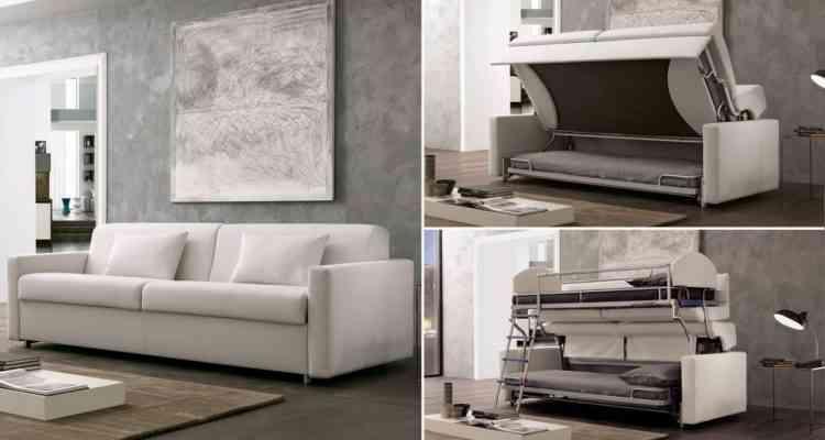 loop le canap convertible qui se transforme en lits. Black Bedroom Furniture Sets. Home Design Ideas