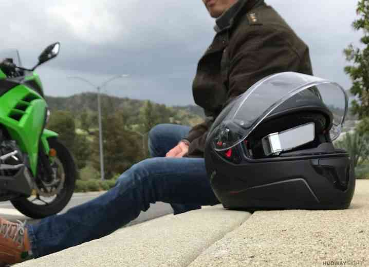 HUDWAY Sight, l'afficheur tête haute (HUD) pour les casques de vélos et de motos