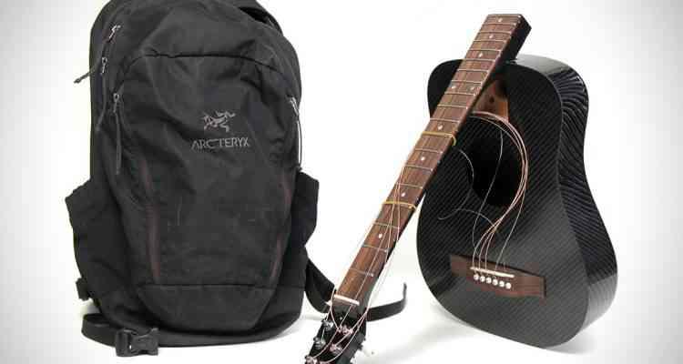 KLOS,l'impressionnante guitare de voyage en fibre de carbone