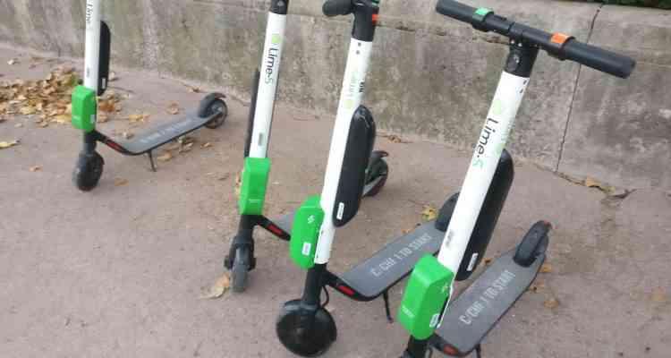 Code promoLIME (Lyon et Bordeaux) pour tester gratuitement les trottinettes électriques en libre service