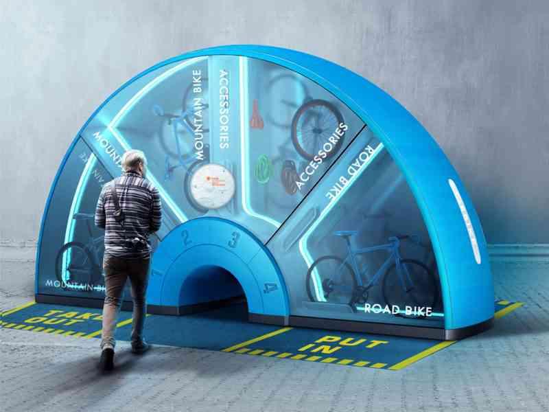 Un distributeur automatique de vélos pour bientôt ?