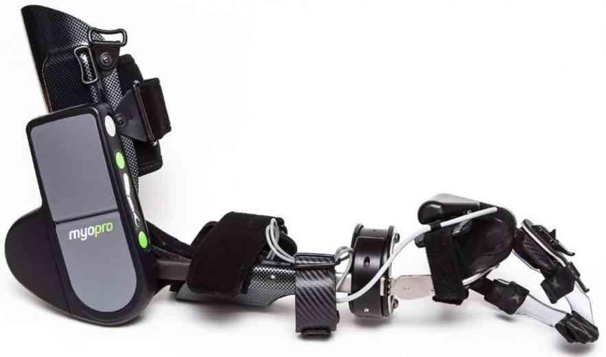 MyoPro, l'orthèse de bras myoélectrique qui permet de retrouver de la mobilité