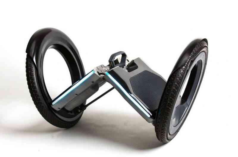 Urmo, un gyropode électrique pliant pour le moins étonnant