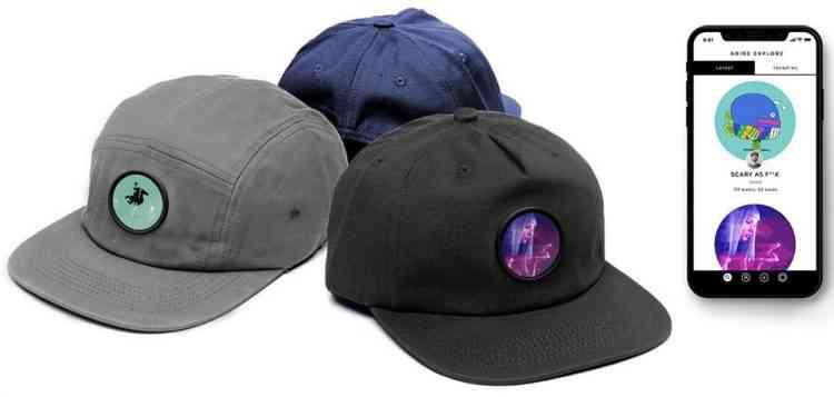 Abide, la casquette qui affiche des GIF animés