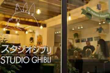 Paris : Une boutique dédiée au studio Ghibli