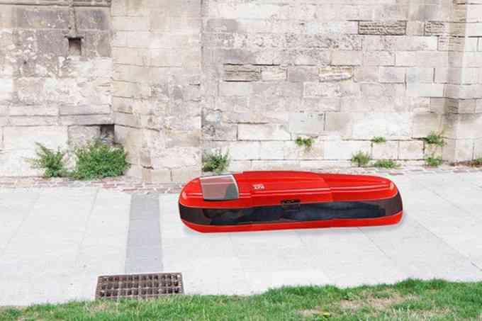Un jeune caennais invente la capsule de sommeil pour les sans-abris
