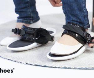 Cybershoes, des patins pour se déplacer dans réalité virtuelle