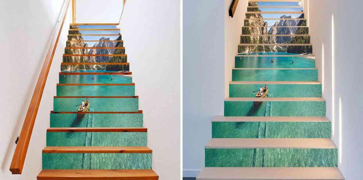 6 Decorations D Escalier En Trompe L œil Absolument Geniales