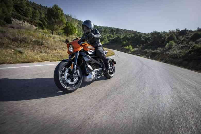 Harley Davidson LiveWire, la moto 100% électrique