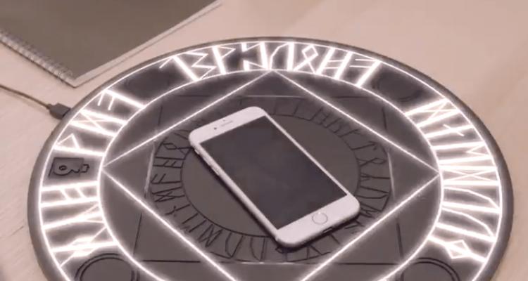 Trop beau pour être vrai,, le cercle magique pour recharger son smartphone