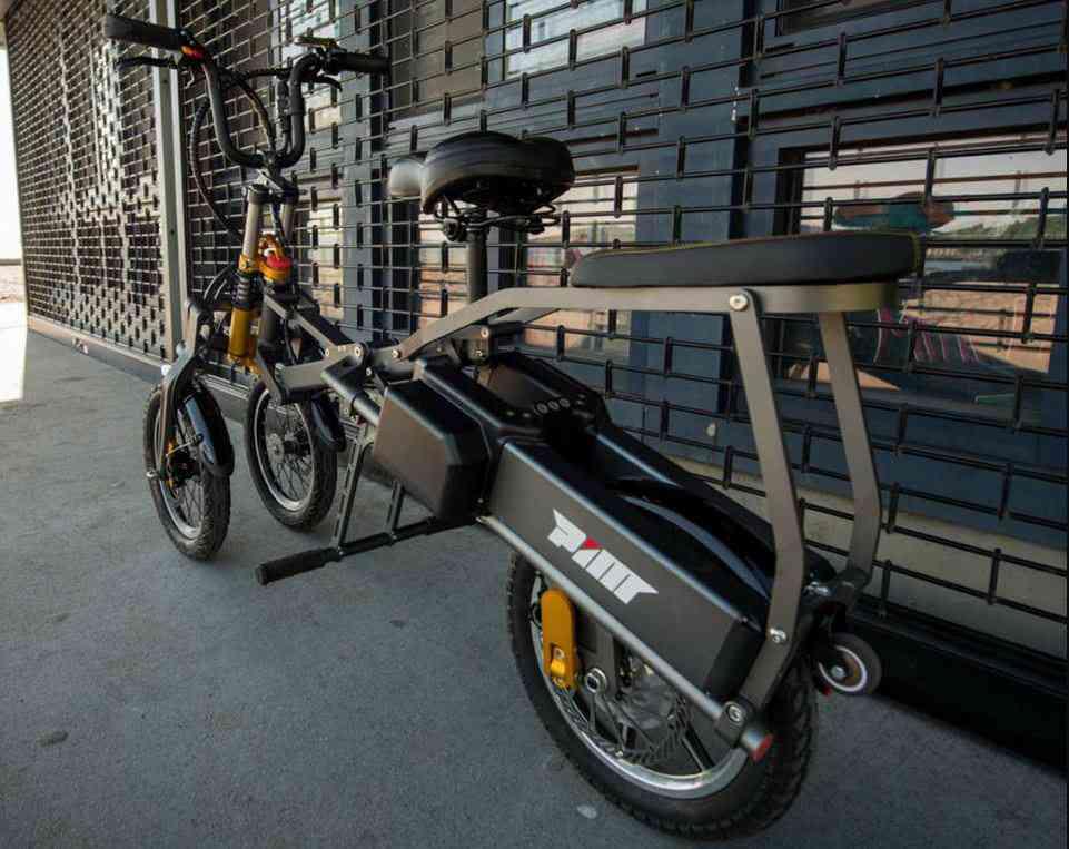 MYLO, le vélo électrique compact et pliable