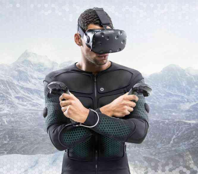 Teslasuit VR, une combinaison haptique pour ressentir des sensations physique sur l'ensemble du corps