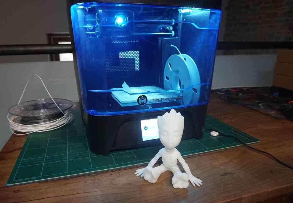 Nous Avons Testé L Imprimante Machines 3d Start Neozone