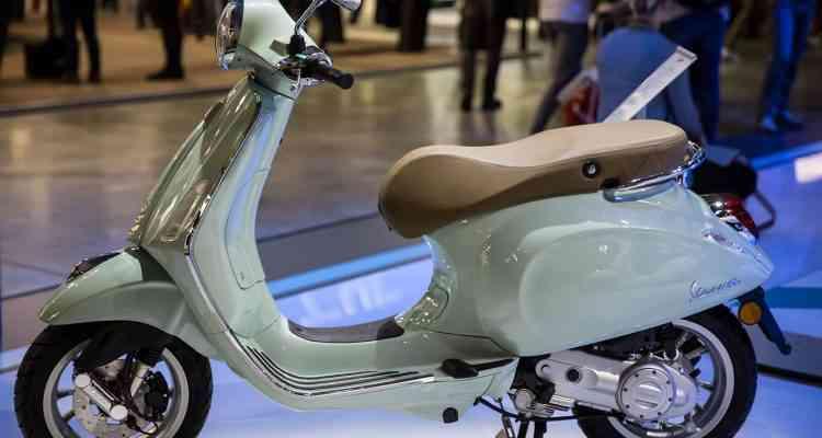 Vespa dévoile son scooter électrique