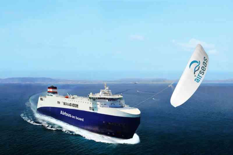Airseas, l'aile volante qui réduit de 20 % la consommation des paquebots