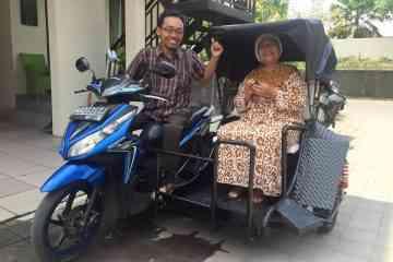 Difa City Tour, des taxis side-car pour les personnes à mobilité réduite