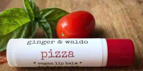 Une gamme de Baumes à lèvres aromatisé à la pizza, au café et à la citrouille…