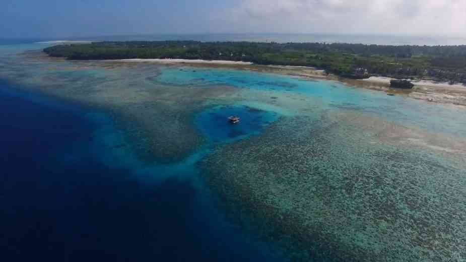 Tanzanie : L'incroyable chambre sous-marine du Manta Resort
