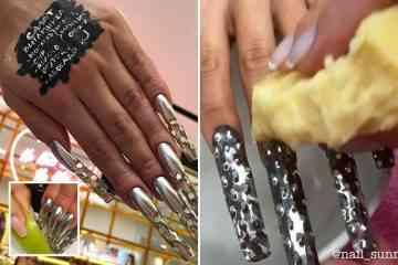 Insolite: Une manucure pour râper le fromage ou des légumes avec ses ongles