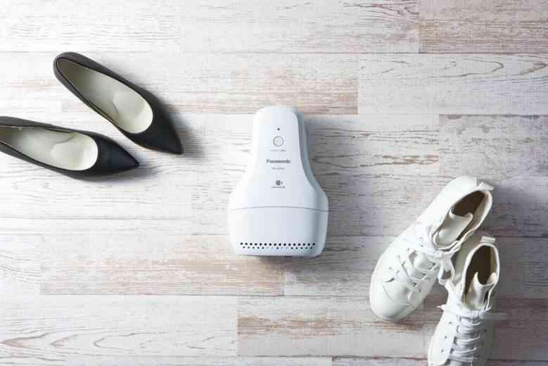 Panasonic dévoile un désodorisant électrique.... pour chaussures !