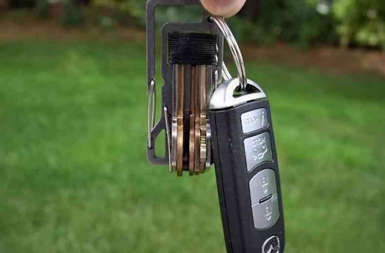 L'ingénieux porte-clefs Titan Key Infusion KT7