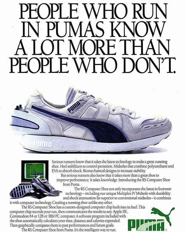 Puma relance les RS Computer 32 ans après les premières !