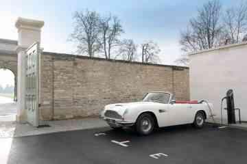 Aston Martin dévoile un kit de conversion (réversible) pour transformer les modèles de collection en voitures 100 % électriques
