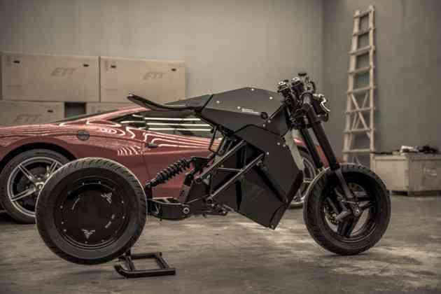ETT dévoile une impressionnante moto électrique au design très futuriste