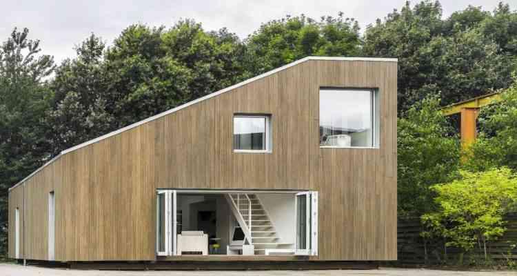 Cette incroyable maison à été construite avec 3 containers maritimes