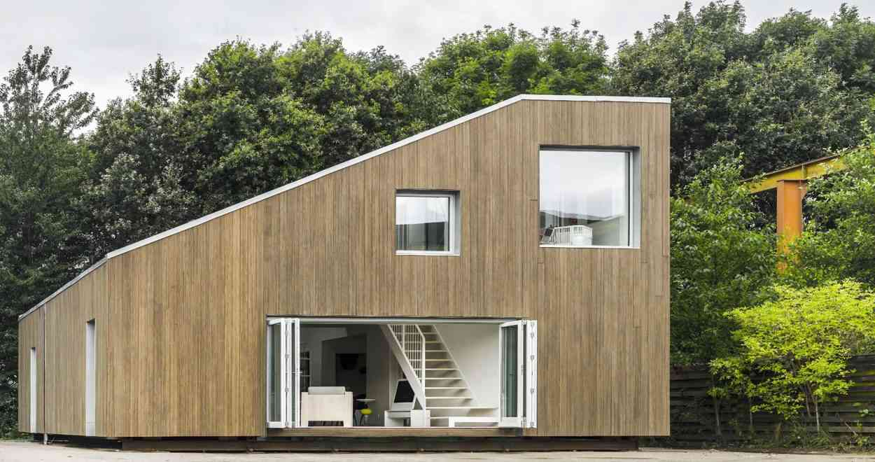Cette Magnifique Maison A Ete Construite Avec 3 Containers