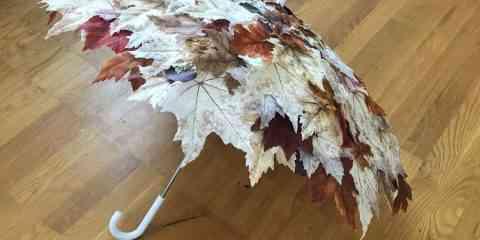 Une jeune créatrice New-yorkaise s'inspire de la nature pour créer de magnifiques parapluies
