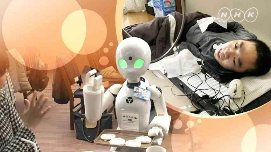 Japon : des robots pilotés par des personnes handicapées pour servir les clients