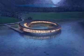 Snøhetta : Svart Hotel, le premier hôtel qui produira plus d'énergie qu'il n'en consomme