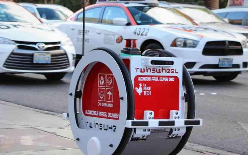 Franprix : TwinswHeel, le premier robot autonome qui livre les course à domicile