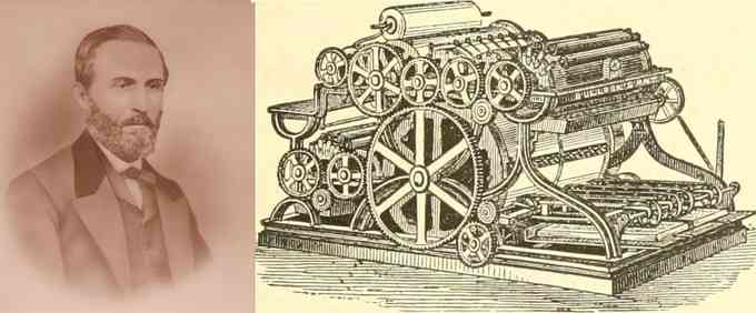 William Bullock (Inventeur de l'imprimante rotative)