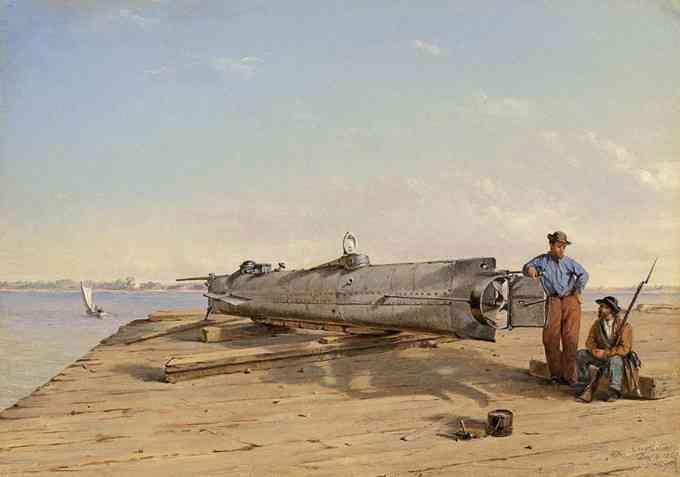 Horace Lawson Hunley (Inventeur du sous-marin)