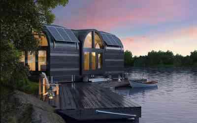 Knaphouse, le concept de maison modulable, durable et intelligent