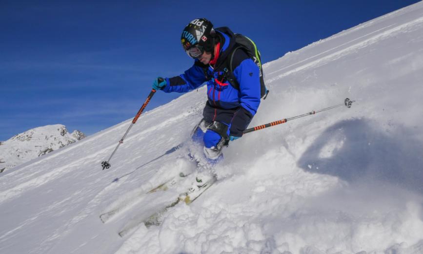 Ski-Mojo un exosquelette qui protège les genoux des skieurs