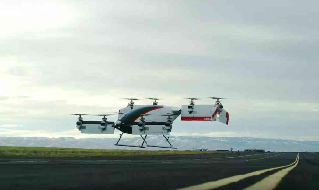 Vahana, premier un vol complet pour le taxi volant d'Airbus