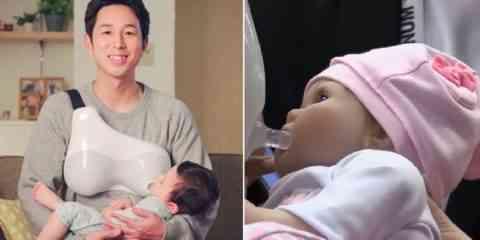 Un nouveau kit japonais pour que les papas allaitent leurs bébés