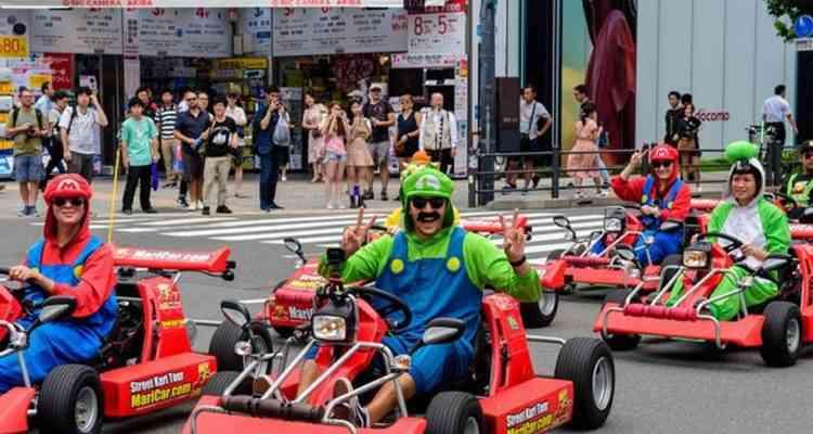 Une immense course de Mario Kart grandeur nature bientôt à Paris ?!