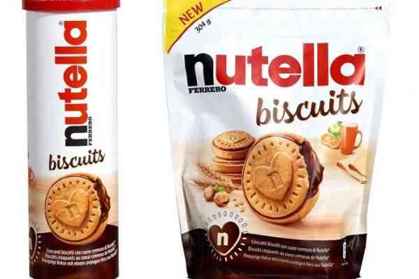 Critiqué sur sa pâte à tartiner, Ferrero dévoile son Nutella biscuit