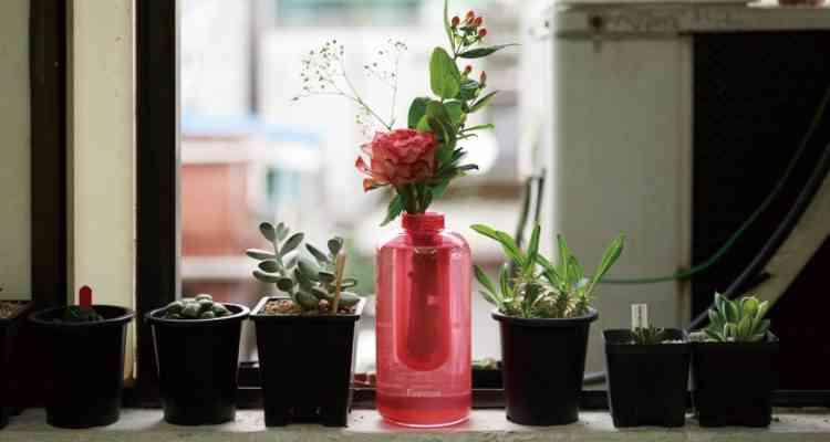 Firevase, l'ingénieux vase extincteur inventé par Samsung