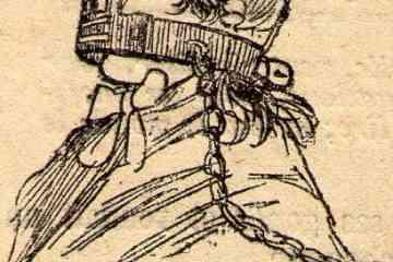 Au moyen-age on utilisait une muselière pour faire taire les commérages