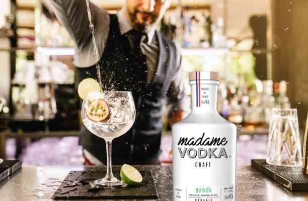 Madame Vodka, la vodka bio à base de quinoa français