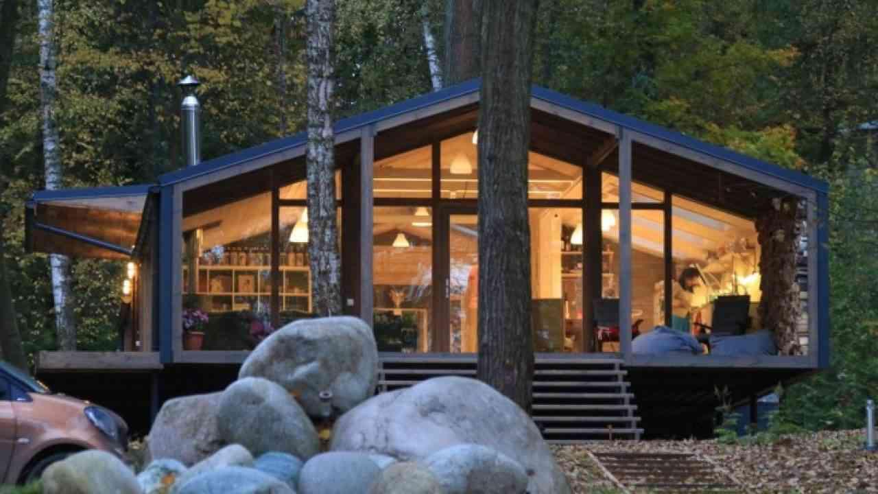 Maison Bois Architecte Pas Cher cette maison ne coûte que 83.000 € et se construit en