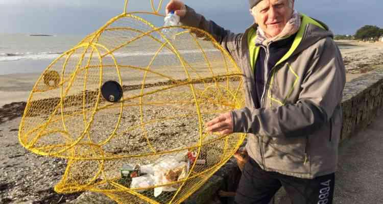Bretagne : Il fabrique des poissons-poubelles pour réduire les déchets dans la mer