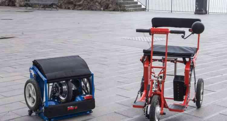 R30 Di Blasi, un ingénieux dispositif électrique et pliant destiné aux personnes à mobilité réduite
