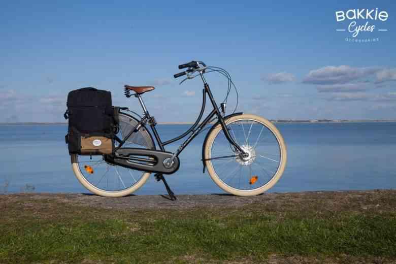 Les sacoches Bakkie Cycles transforment votre bicyclette en vélo cargo