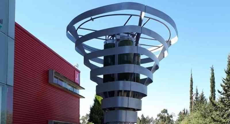 L'arbre mécanique Biourban peut filtrer autant d'air que 368 arbres ordinaires